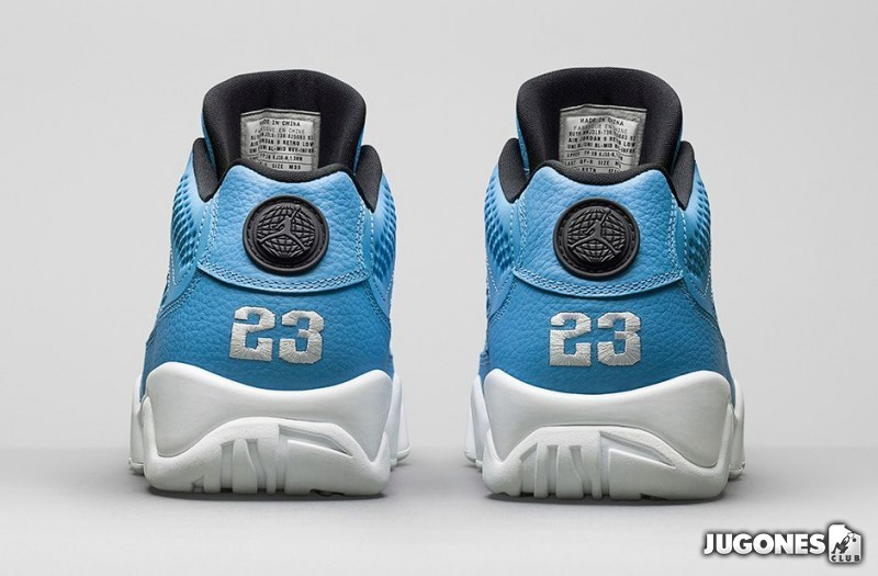 c7af5b47e22 Air Jordan 9 Retro Low `University Blue` ...