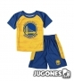 Conjunto Double Dribble Warriors