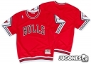 Camiseta Calentamiento Authentic Chicago Bulls 1989