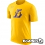 Camiseta Nike Dry Logo Los Angeles Lakers