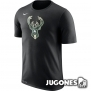 Camiseta Nike Dry Logo Milwaukee Bucks
