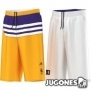 Pantalón Corto Reversible Lakers Niñ@s