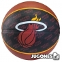 Balon Spalding team balls Miami Heat Talla 7