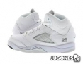 Air Jordan 5 Retro BP 'Total White'