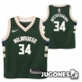 Camiseta Milwaukee Antetokounmpo Jr