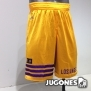 Pantalon corto reversible Lakers