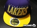 Gorra New Era Speed Stream Lakers Jr