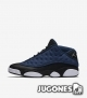 Jordan 13 Retro Low 'Black & Blue'