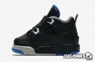 Nike Air Jordan 4  TD ' Motosport Away'