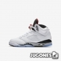Nike Air Jordan 5 Retro BG 'White Cement'