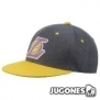 Gorra Plana Adidas Lakers fitted