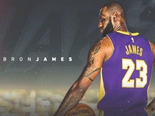 Los Angeles Lakers anuncia a bombo y platillo el fichaje de LeBron James, ahora oficial: `Es un momento histórico para nosotros`.